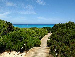 Ibiza wandelen